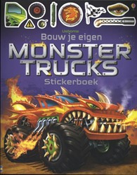 Bouw je eigen monstertrucks Stickerboek