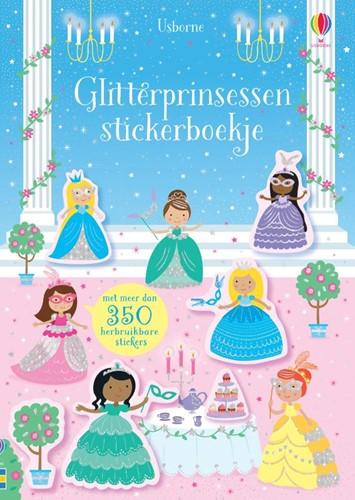 Glitterprinsessen -Stickerboekje