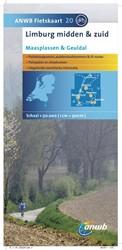 ANWB fietskaart 20 : Limburg Midden-en Z -Schaal 1:75.000 ANWB