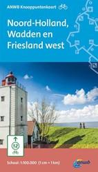 Fietsknooppuntkaart Noord-Holland, Wadde