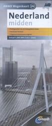 ANWB wegenkaart : Nederland Midden -schaal 1:200.000