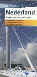 ANWB wegenkaart : Nederland -schaal 1:300.000
