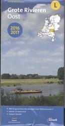 ANWB waterkaart L : Grote rivieren Oost