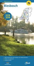 WATERKAART N Biesbosch 2018/2019 ANWB