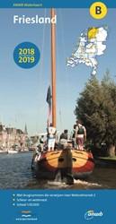 WATERKAART B Friesland 2018/2019 ANWB