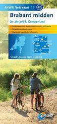 ANWB fietskaart 18 : Brabant Midden: De -Schaal 1:75.000