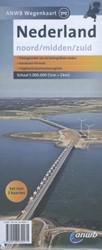 ANWB wegenkaart : Nederland Noord, Midde -schaal 1:200.000