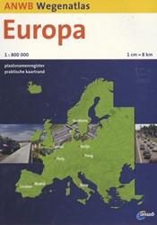 ANWB wegenatlas : Europa 2016 -schaal 1:800.000