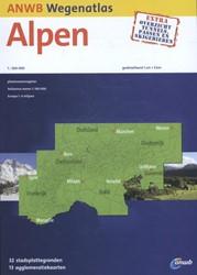 ANWB wegenatlas : Alpen 2016-2017 -schaal 1:300.000