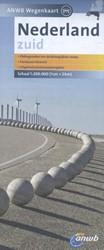 ANWB wegenkaart : Nederland Zuid -schaal 1:200.000