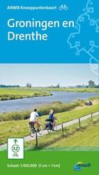 Fietsknooppuntkaart Groningen en Drenthe