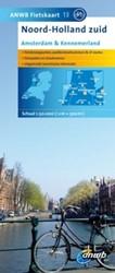 ANWB fietskaart 13 : Noord-Holland Zuid: -Schaal 1:75.000