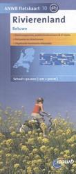 ANWB fietskaart 10 : Rivierenland: Betuw -Schaal 1:75.000