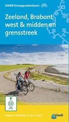 Fietsknooppuntkaart Zeeland, Brabant wes