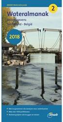 Wateralmanak 2 2018 -Vaargegevens Nederland-Belgie ANWB