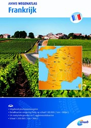 Wegenatlas Frankrijk ANWB