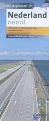 ANWB wegenkaart : Nederland Noord