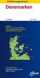 ANWB wegenkaart : Denemarken
