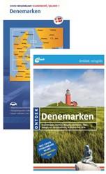 SET ONTDEK DENEMARKEN + WEGENKAART DENEM