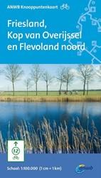 Fietsknooppuntkaart Friesland, Kop van O