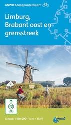 Fietsknooppuntkaart Limburg, Brabant oos