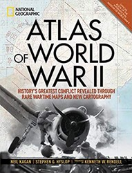 Atlas of World War II -History's Greatest Confli vealed Through Rare Wartime Ma Hyslop, Stephen G.