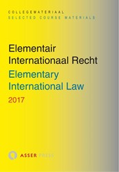 Elementair Internationaal Recht 2017/ El -elementary International Law 2 017