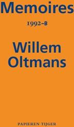 Memoires 1992-B Oltmans, Willem