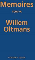 Memoires 1992-A Oltmans, Willem