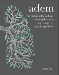 Adem -eenvoudige ademhalingstechniek en voor een rustiger en gelukk Hall, Jean