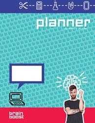 BrainBoost planner -Voor school & je leven Hofman, Tim