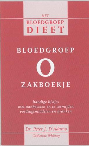 Bloedgroep O zakboekje D'Adamo, P.