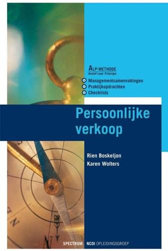 Persoonlijke verkoop -BOEK OP VERZOEK Boskeljon, R.