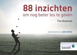 88 inzichten om nog beter les te geven Bowman, Tim