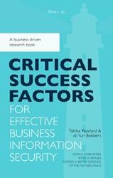 Critical success factors for effective b -A business driven research boo k Bobbert, Yuri