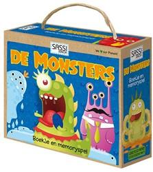 Sassi - De Monsters -boekje en memoryspel