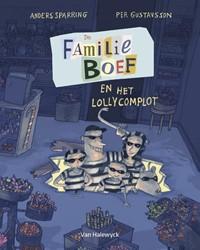 De familie Boef en het lollycomplot Sparring, Anders