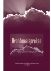 Themapreken Avondmaalspreken -voorbereidings- en nabetrachti ngspreken Boven, B.J. Van