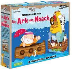 De Ark van Noach, 3D reuzenpuzzel + boek -zet in elkaar en bouw 3D reuze npuzzel + boekje Neil, Mathew