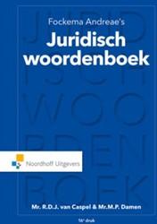 Fockema Andreae's juridisch woorden Caspel van, R.D.J.