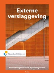 Externe verslaggeving Hoogendoorn, Martin