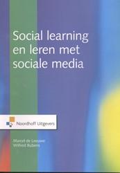 Social learning en leren met sociale med Leeuwe., Marcel de