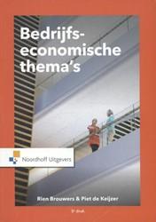 Bedrijfseconomische thema's Brouwers, Rien