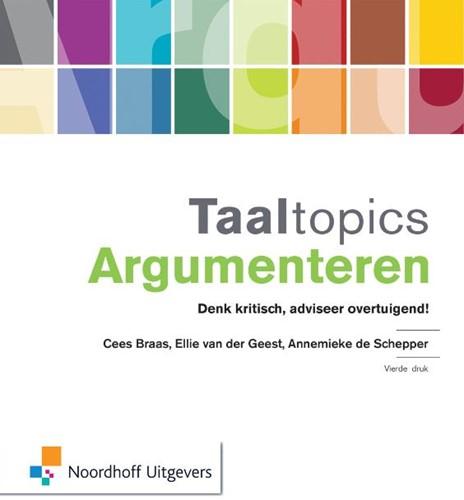 Taaltopics argumenteren Braas, Cees