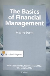 The Basics of financial management-exerc Koetzier, Wim
