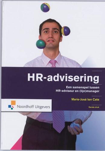 HR-advisering -een samenspel tussen HR-advise ur en (lijn)manager Cate, Marijke ten