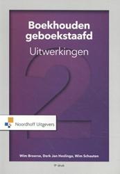 Boekhouden geboekstaafd 2 Broerse, W.J.