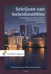 Schrijven van beleidsnotities -handleiding voor het opstellen van korte adviesteksten over Berkenbosch, Rinke