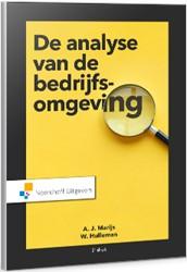 Analyse van de bedrijfsomgeving Marijs, A.J.