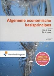 Algemene economische basisprincipes Jong, D.J. de